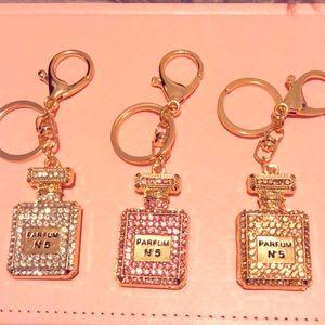 Crystal N 5 KeyRings